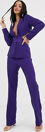 4th & Reckless tailored trouser in purple