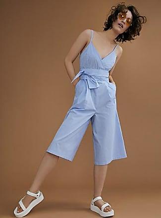 Icone Fine-stripe tie-waist jumpsuit