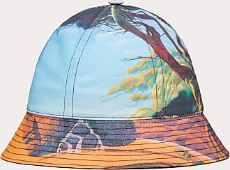 Valentino Garavani Valentino Garavani Uomo Cappello Bucket Floating Island - Yellow City In Nylon Uomo Arancione/multicolor Poliestere 100% 57