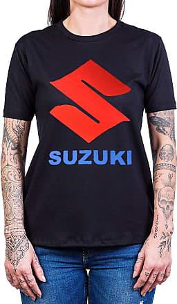 Bandalheira Camiseta Suzuki Logo Manga Curta
