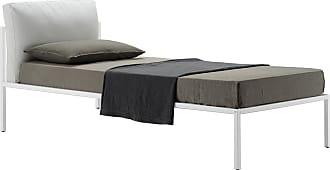 ZANOTTA Design Nyx Bed White & Beech Single