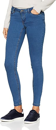 Noisy May Womens Nmextra Eve Lw S.s. Jeans Sh001mb Noos Skinny, Blue (Medium Blue Denim Medium Blue Denim), W27/L32 (Size: 27)