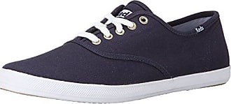 Keds Mens Champion Original Canvas Sneaker,Navy,8 M