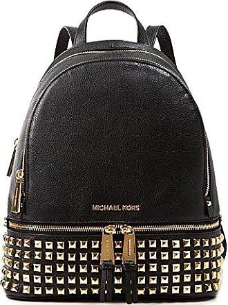beb1998ad7078c Michael Kors MICHAEL by Michael Kors Rhea Zip Small Rucksack aus Leder  Schwarz one size Schwarz