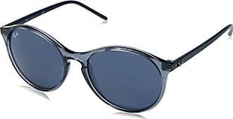 5db26e06c7 Ray-Ban Womens 0rb4371 Cateye Sunglasses TRASPARENT BLUE 51.0 mm