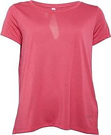 Under Armour short sleeve top with keyhole detail to the back and HG HeatGear technology. 1328903-671