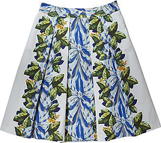 Franken & Cie. Skirt bows and leaves, blue