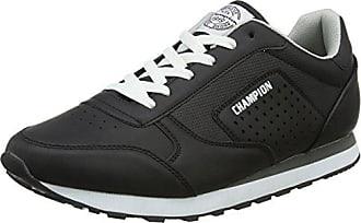 3317e051e66e61 Champion Herren Low Cut Shoe C.J. PU Sneaker Schwarz (New Black KK001) 46 EU