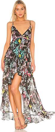 b5d73109c3 Rococo Sand Moonlight Printed Maxi Dress in Black