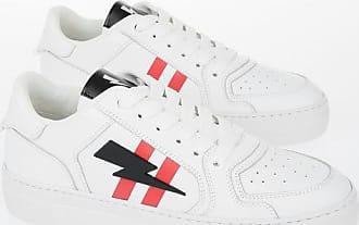Neil Barrett Leather MODERNIST LOW BASKET Sneakers size 39