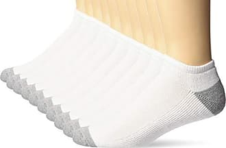 Essentials Womens 10-Pack Cotton Lightly Cushioned No-Show Socks