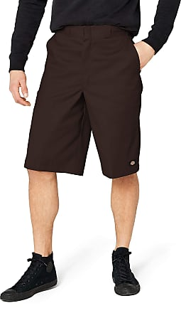 Dickies Mens 13MLTI PKT W/SRT Shorts, Dark Brown, W40