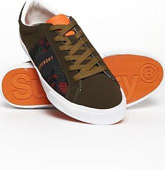 NEU Superdry Trophy Classic Sneaker 43 grau Herren Schuhe Chucks