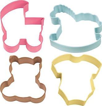 Wilton Baby Theme Cookie Cutter 4 Piece Set