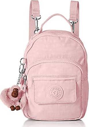 Kipling Womens Alber 3-in-1 Convertible Mini Bag Backpack, Wear 3 Ways, Zip Closure, Strawberry Pink Tonal