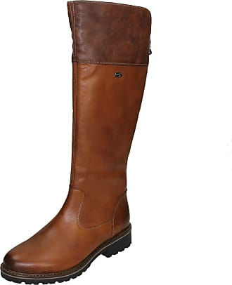 Remonte Womens Andros Nut Water Resistant Calf Boots D8077 25