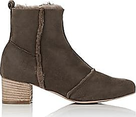 a744685edee Barneys New York Womens Faux-Shearling Ankle Boots - Sand Size 11