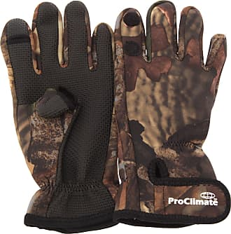 Universal Textiles Mens Neoprene Premium Angling/Fishing Gloves (L/XL) (Camouflage)