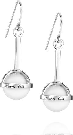 Efva Attling Amor Fati Globe Earrings - White Agate Earrings