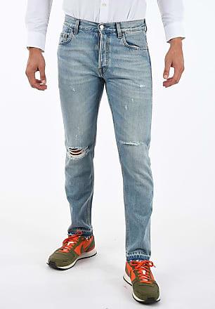 Gucci Jeans Stonewashed Effetto Vintage 18cm taglia 31