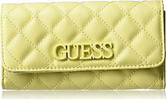 Guess Elliana Multi Clutch Wallet, yellow