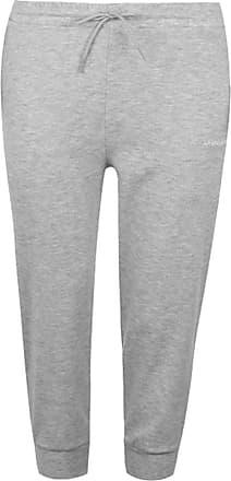 LA Gear Womens Interlock Jogging Pants Jersey Bottoms Trousers Lightweight