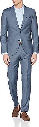 s.Oliver BLACK LABEL Herren Anzughose mit Struktur Einfarbig
