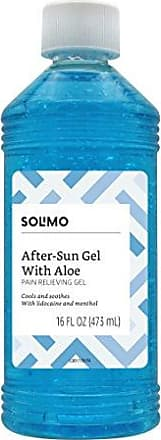 Solimo Amazon Brand - Solimo After Sun Gel with Aloe, Lidocaine and Menthol, 16 Fluid Ounce (1 Pack)