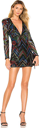X by NBD Elton Embellished Mini Dress in Black