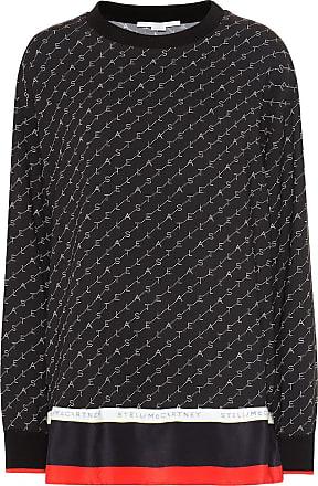 Stella McCartney Mossman silk-blend cady top