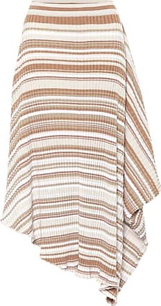 J.W.Anderson Striped wool skirt