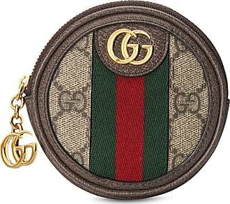 Gucci Porta-moedas Ophidia GG - Neutro