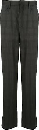 Kolor checkered print trousers - Grey