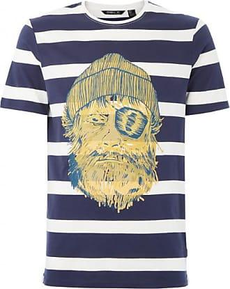 O'Neill Jack ONeill Tee T-Shirt für Herren   blau/weiß/grau