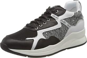 Liu Jo Womens Karlie 35-Sneaker Low-Top, Black (Black 22222), 2 UK
