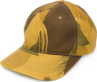 Ymc You Must Create camouflage-print baseball cap - Green