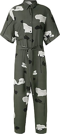 Osklen Rose Glitch jumpsuit - Green