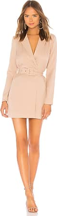 Lovers + Friends Jay Blazer Dress in Cream