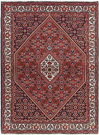 Nain Trading 161x113 Tappeto Fatto A Mano Bidjar Ruggine/Viola (Lana, Persia/Iran)