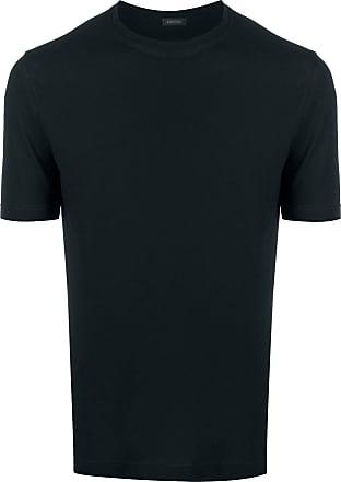 Zanone crew neck T-shirt - Azul