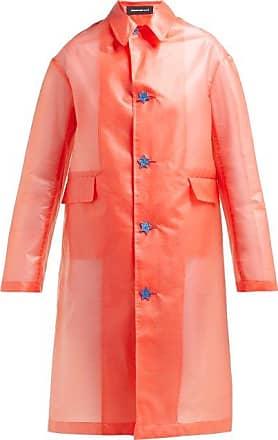 Undercover Transparent Raincoat - Womens - Red