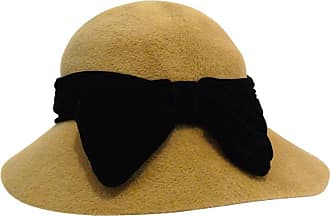 3e0e36fa877b9 Saint Laurent 1960s Yves Saint Laurent Tan Cloche Bow Hat