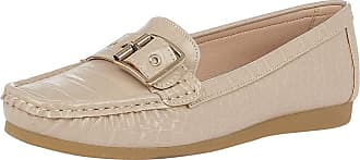 Lotus Cory Womens Moccasin Shoes 8 UK Nude