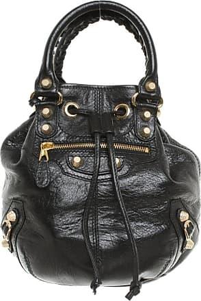 Balenciaga gebraucht - Balenciaga-Umhängetasche aus Leder in Schwarz - Damen - Leder