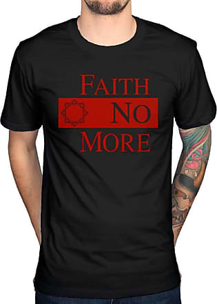 AWDIP Official Faith No More Star Logo T-Shirt Angel Dust Sol Invictus We Care A Lot Black