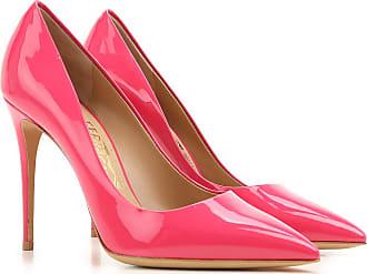 ae7cd941011d1 Salvatore Ferragamo Zapatos de Tacón de Salón Baratos en Rebajas Outlet,  Fiore, Frambuesa,