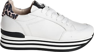 Janet Sport sneaker inserto leo, 35 / bianco