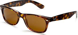 Ray-Ban NEW WAYFARER - YELLOW/BROWN TORTOISE Frame CRYSTAL BROWN Lenses 52mm Non-Polarized