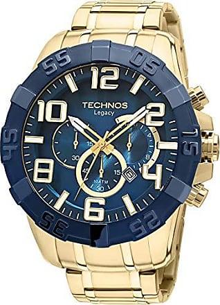 Technos Relógio Technos Masculino Classic Legacy Cronografo Os20Iq/4A - Dourado