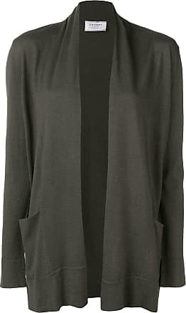 Snobby Sheep open-front fitted cardigan - Verde